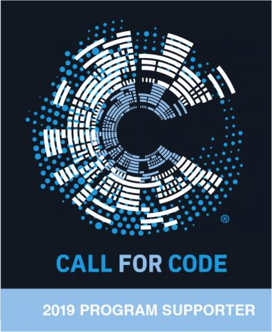 Call for Code 2019 Program Supporter