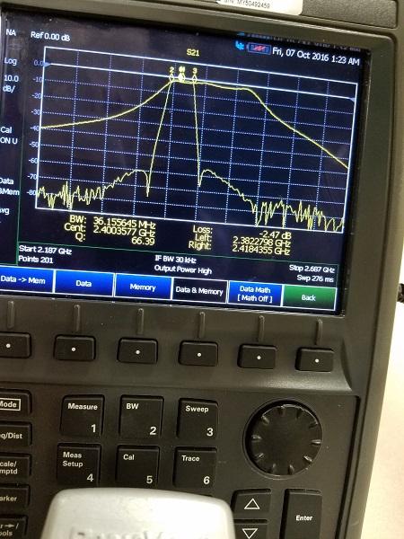 Filters | Amateur Radio Emergency Data Network